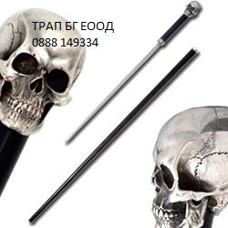ПРОМО 6 мод. Бастун със скрит кинжал сабя меч острие bastun нож мо