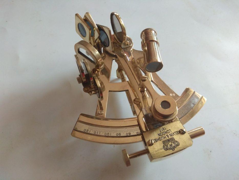 секстант ,морски навигационен уред,компас