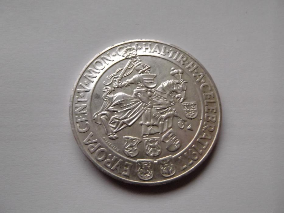 Moneda de colectie din argint