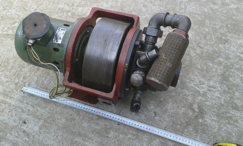 Motor 0.74kw cu pompa hidraulica de presiune 200bar presa hidraulica