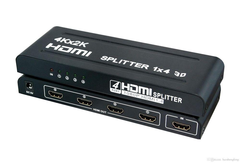 Splitter HDMI 1 entrada e 4 saidas