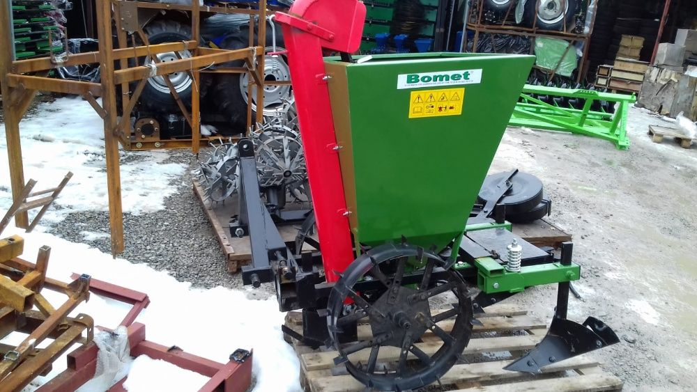 masina plantat cartofi - tractor, motocultor