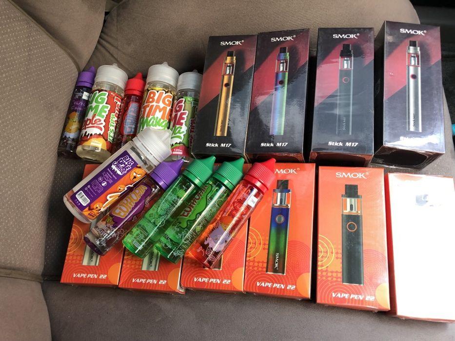Smoke Vape Pen 22 com sabor free