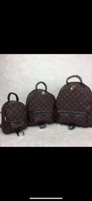 Ghiozdan Louis Vuitton/piele naturală,nu eco/calitate superioară