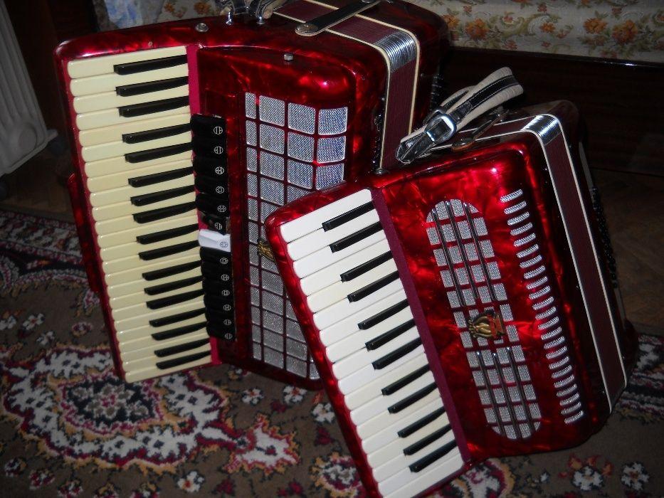 vand acordeon parrot mare 13 registre cu voce de orga, ton puternic120