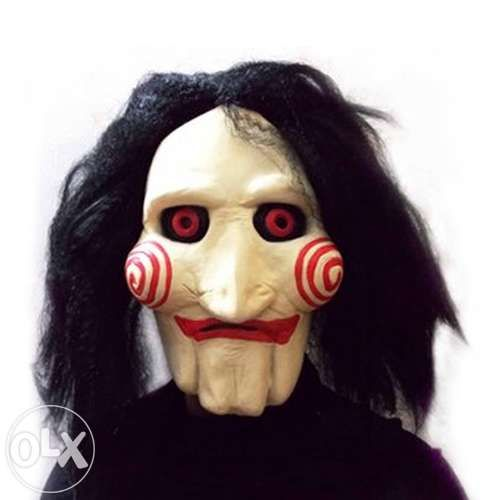 Masca petrecere Jigsaw Puppet Halloween costum saw Cosplay +CADOU!