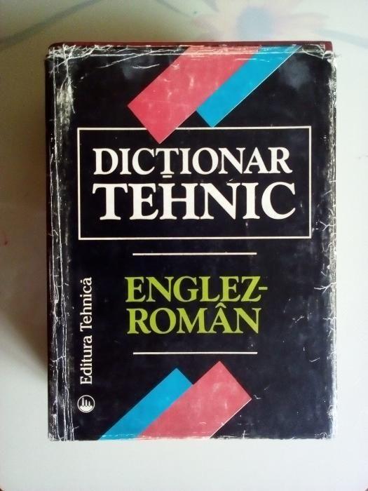 Dictionar tehnic Englez-Roman Editura Tehnica