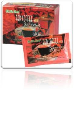 Café Vermelho com Ginseng (Red coffee with Ginseng)