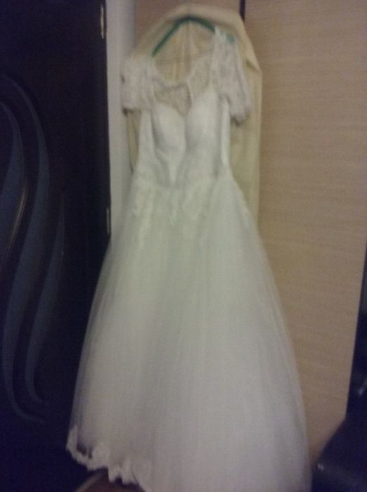 Rochie Mireasa marime50-54 corset regalbil