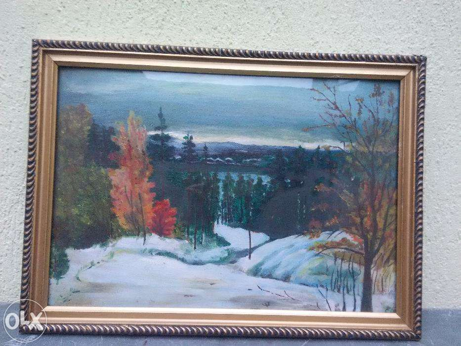 tablou peisaj tomnatic