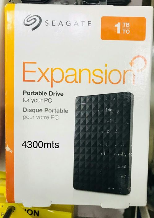 Disco externo na caixa