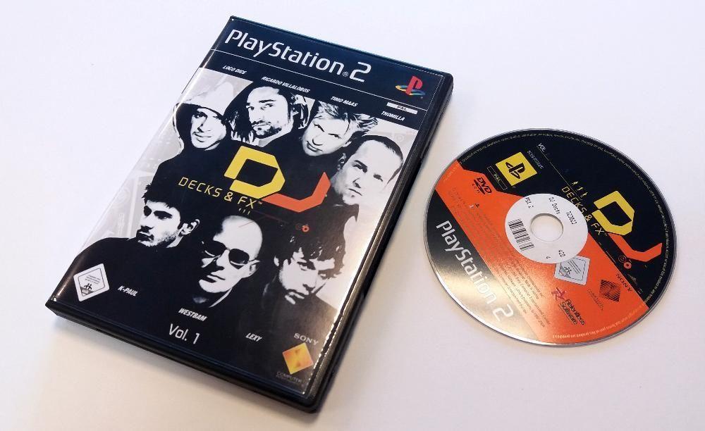 Joc Consola Playstation 2 - DJ Decks & FX - Vol.1 Original
