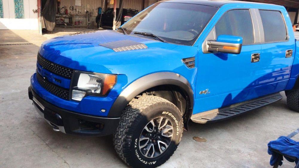 Ford Raptor 6.2 SVT 2014