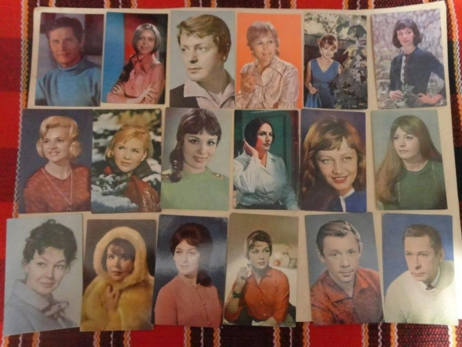 открытки актёров советского кино