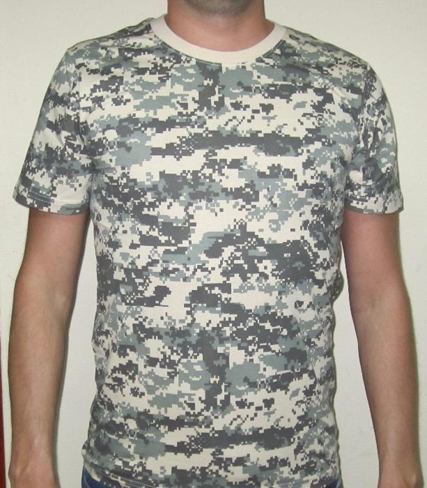 футболки камуфляжные