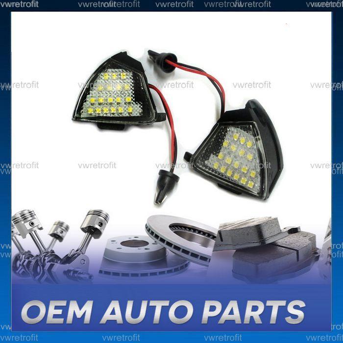 Lampi lumini sub oglinzi pentru VW Passat B6, Golf 5 IV, puddle light