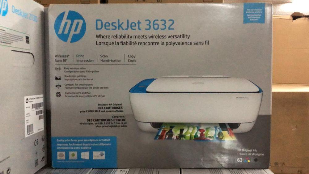 Impressoras hp deskjet 3632 com wireless