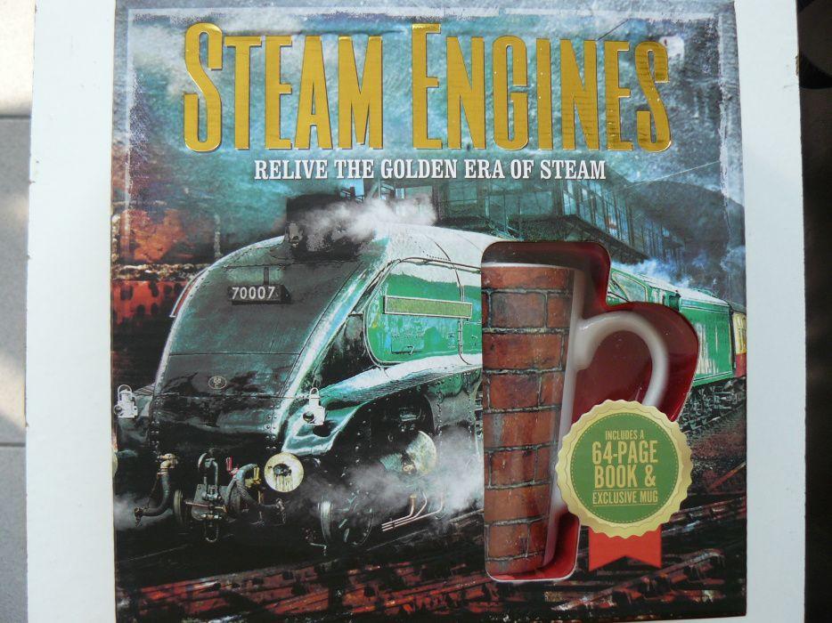STEAM ENGINES Un Set Cutie Special pentru colectionari,si nu numai