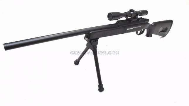 Pusca 4 JOULES / AIRSOFT Cu Aer Comprimat pistol sniper AWP PUTERNICA