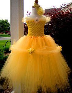 Rochita pentru fetita TUTU Serbare Carnaval Belle Frumoasa si bestia