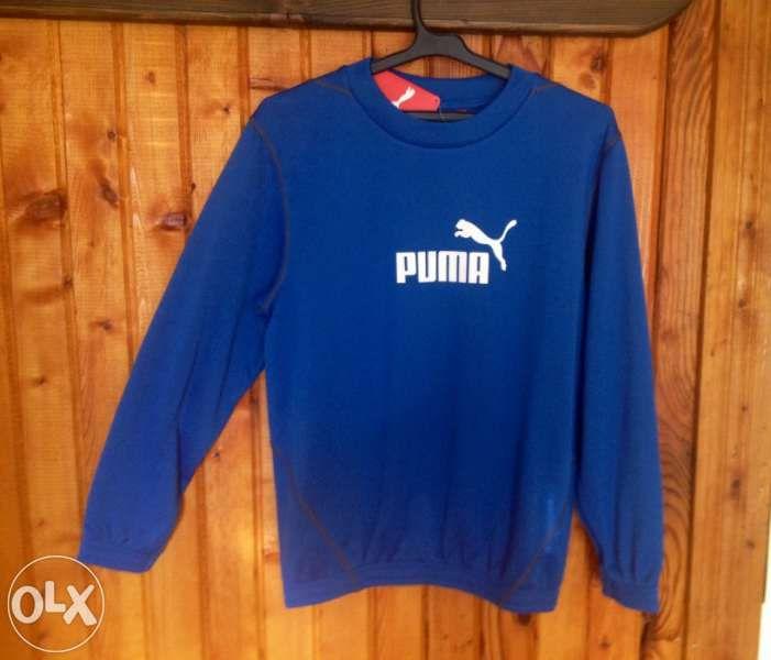 Детска-Юношеска блуза Пума, Puma junior sweater