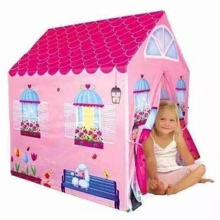 Cort de joaca pentru copii, casuta roz, jungla - interior/exterior