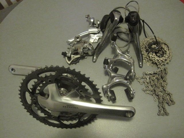 Shimano Ultegra 6600/03-groupset 3x10 speed
