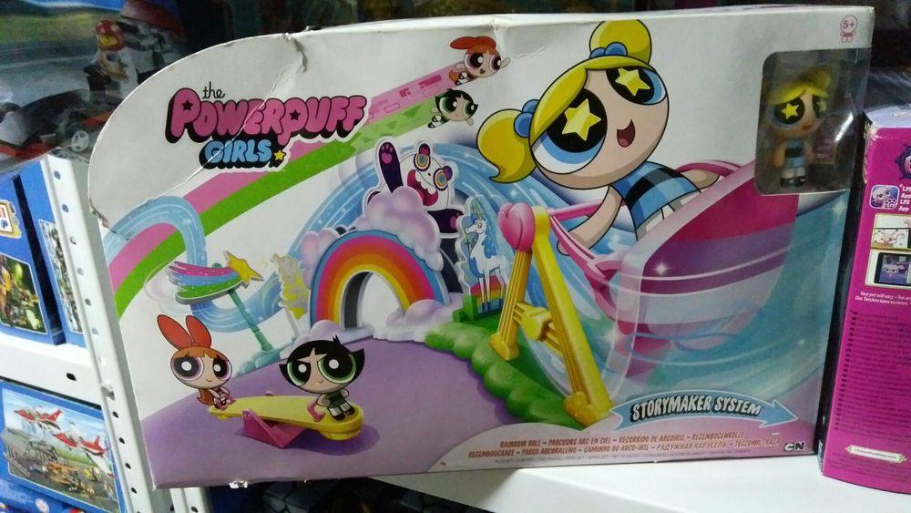 Powerpuff girls игрушка создай свою историю, большой набор