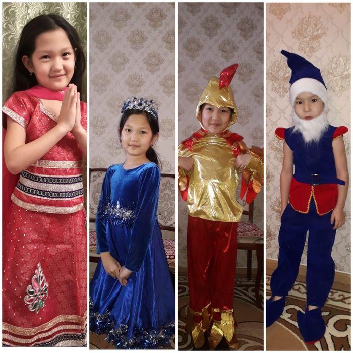 Новогодние костюмы Гнома,Петуха,Индиский