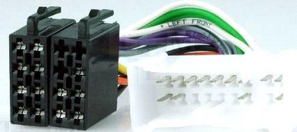 Conector adaptor de la ISO pentru Nissan