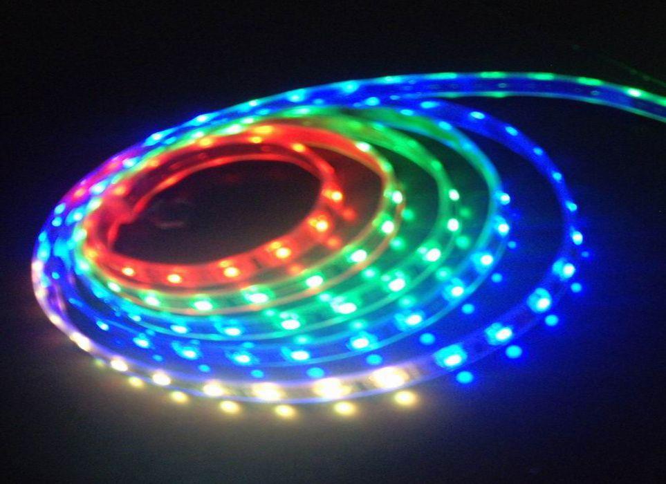 для рекламы и декоративной подсветки светодиодные ленты неоновые шнуры