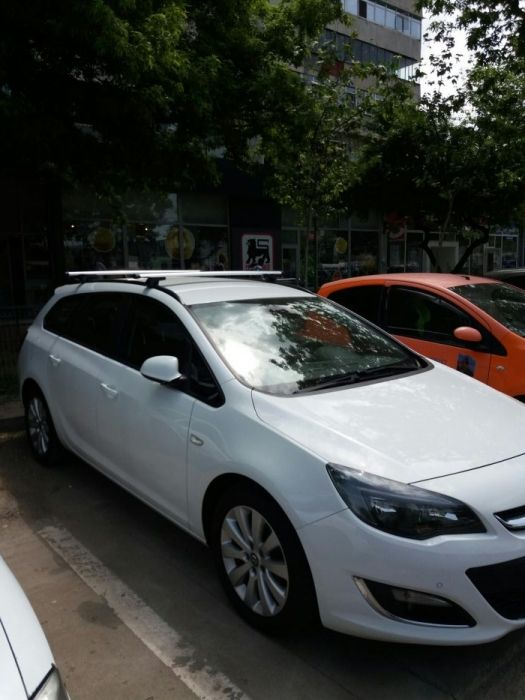 Bare de portbagaj transversale Opel Astra J break sportourer aluminiu
