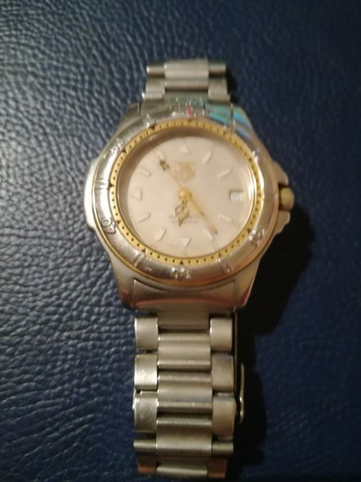 Ceas Tag Heuer aur/otel automatic +3 ceasuri cronograf de razboi