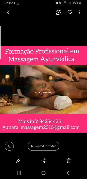 Formação Profissional em Massagem Ayurvêdica