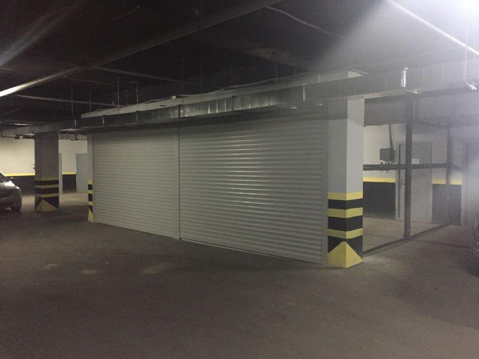 Рулонные ворота для паркинга, ограждение паркинга DoorHan
