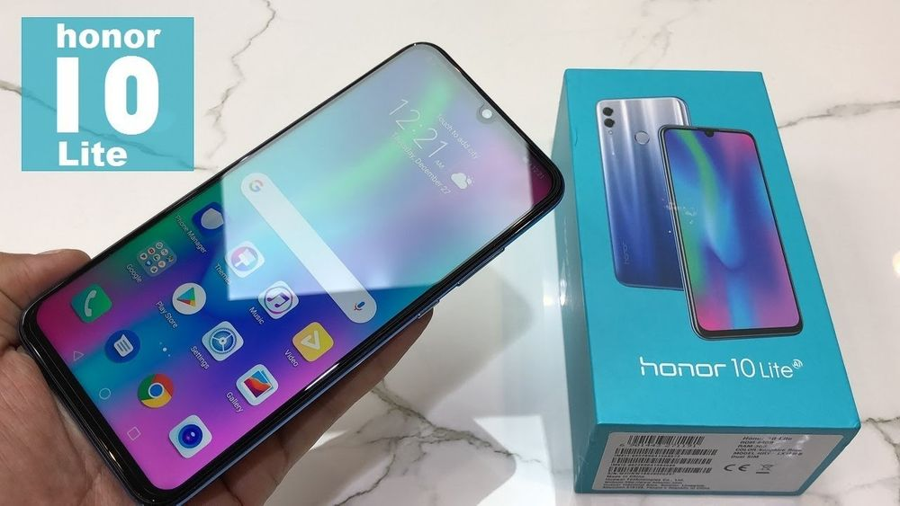 Huawei Honor 10 lite [ novo na caixa ]