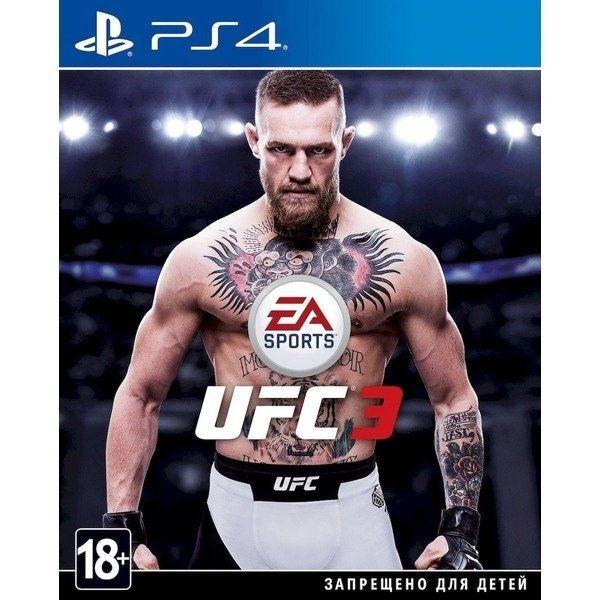 ДИСК PlayStaion 4 PS4 UFC 3 На русском Новый! Лицензия ! Игры Доставка
