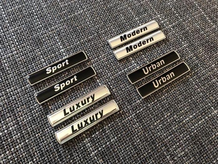 Set embleme BMW aripa 4 modele
