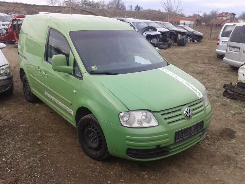 НА ЧАСТИ! VW Caddy 2.0i ECO МЕТАН EcoFuel 109 кс.