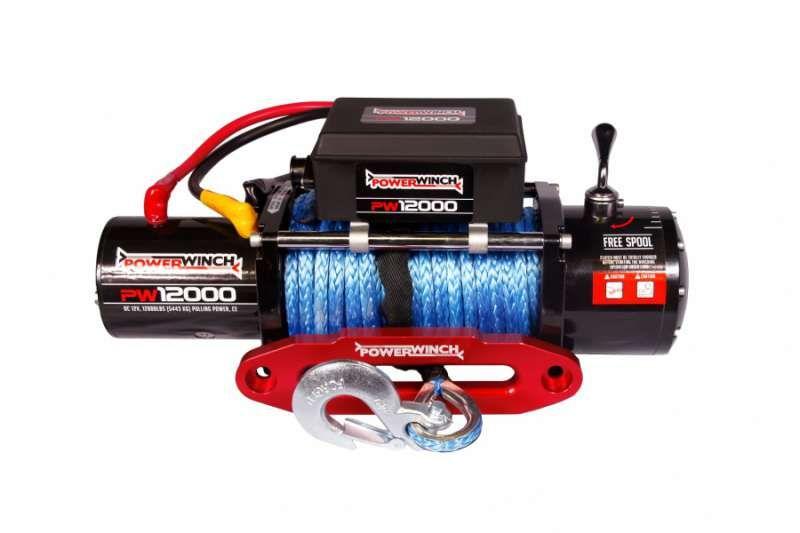 Лебедка PW12000ESR 5443 kg Powerwinch синтетично въже
