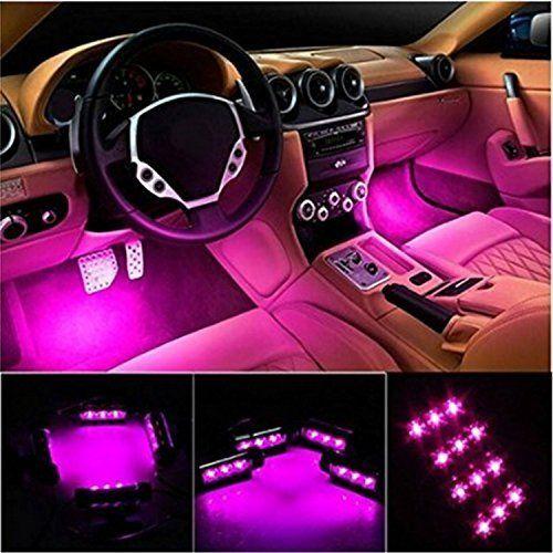 Интериор LED RGB светлинни ленти - кола интериор - Дистанционно . car