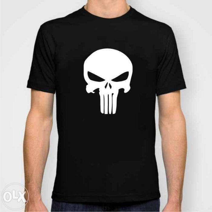 Tricou cadou skull craniu punisher