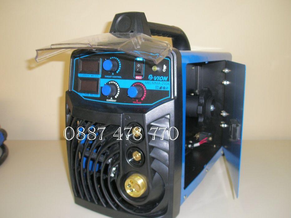 Телоподаващ Апарат 250 ампера комбиниран с електрожен
