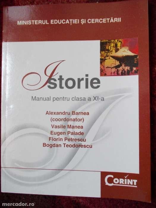 Manual Istorie clasa a XI -a