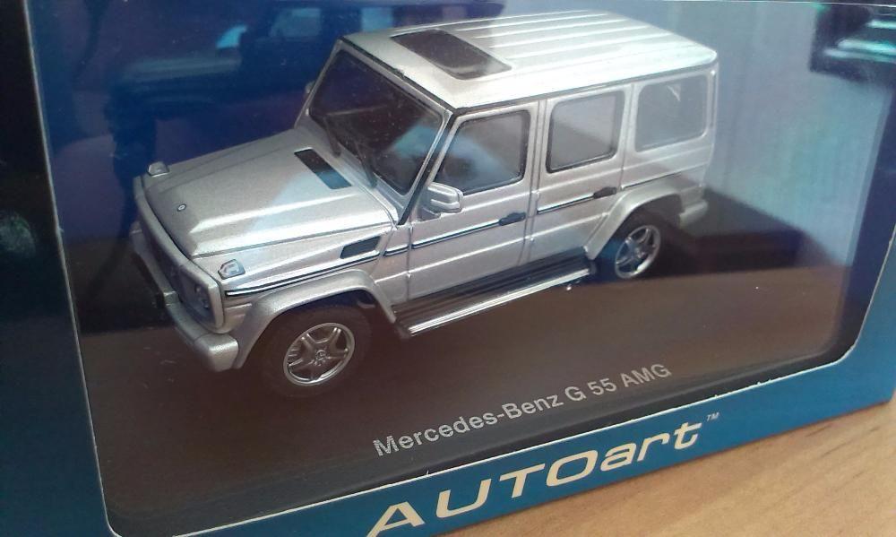 Autoart 1:43 silver- Mercedes G55 AMG
