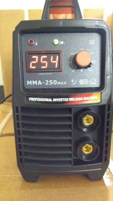 230 лв! -Професионален Инверторен Електрожен - 250 Ампера- ЕЛЕКТРОЖЕНИ