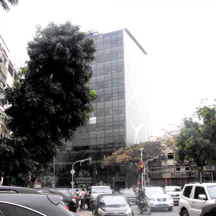 Arrendamos Escritório Edifício Metropolis Business Center Talatona