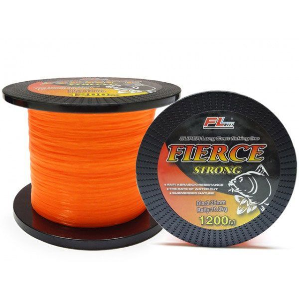Fir FL Fierce Strong Orange Portocaliu nylon guta 1200 metri