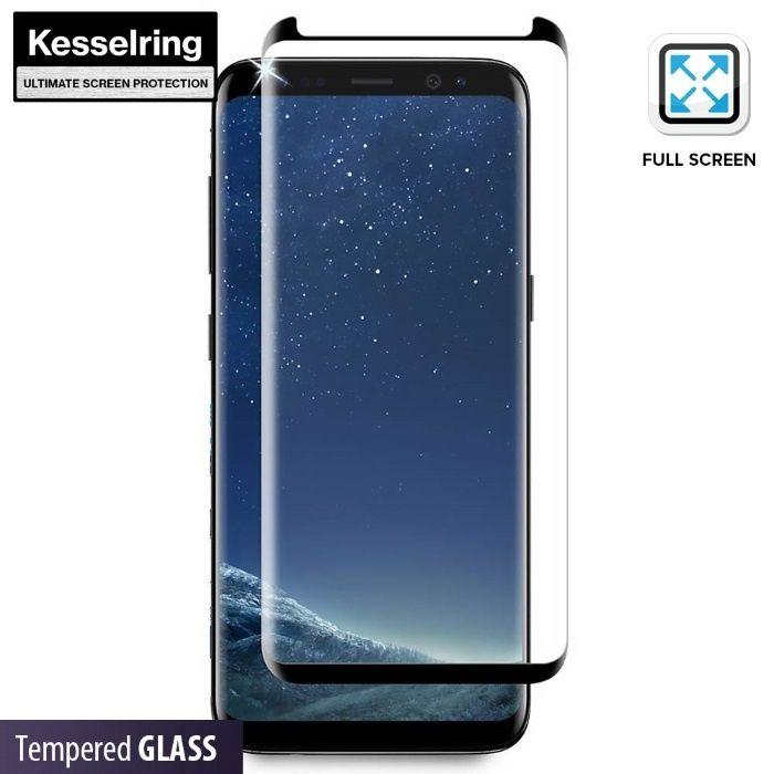 Folie sticla transparenta securizata Samsung S8plus+kit de curatare