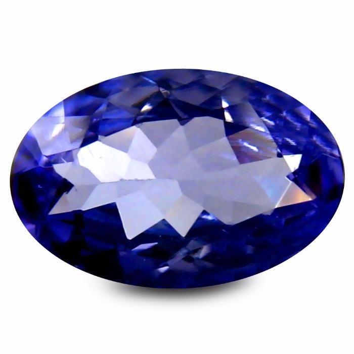 tanzanit natural 1,80 carate dim 8,5x6,6 mm
